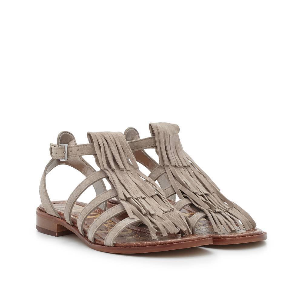 Sam Edelman Estelle Putty Suede Ankle Strap Sandal womens 6-10  NEW