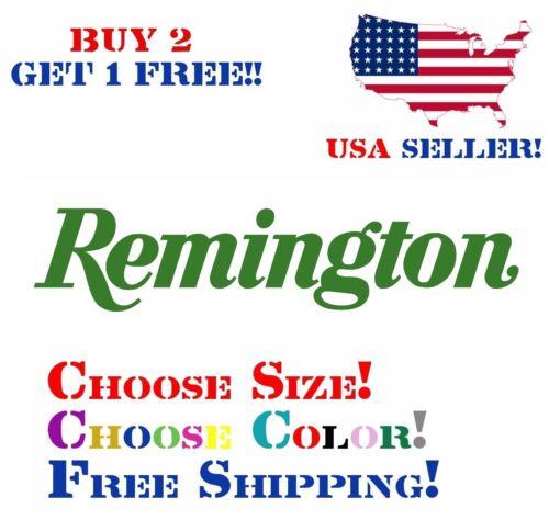 Remington Decal Sticker Free Shipping Buy 2 Get 1 Free!!