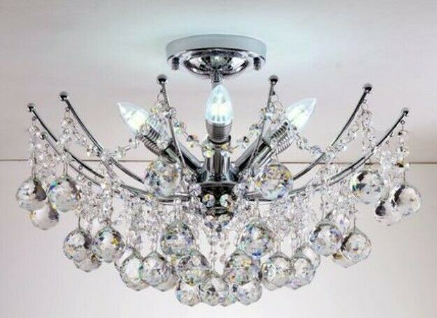 D671 European Diameter 50CM 6 Lights Decoration Droplight Chandelier Lamp S