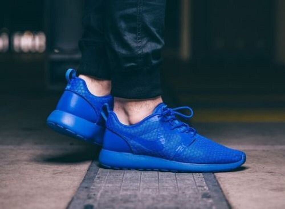 NIKE ROSHE casualeses HYPERFUSE Correr Zapatillas Zapatos casualeses ROSHE ONE Gimnasio-(UE 43) Azul 6d120b