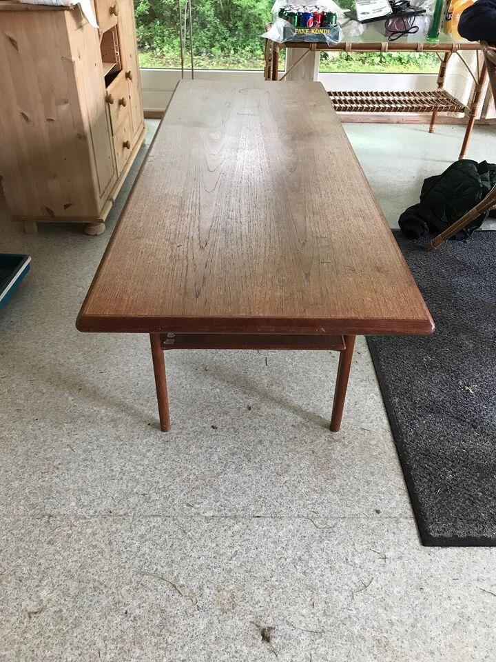 Sofabord, Marsk Møller Højer, teaktræ