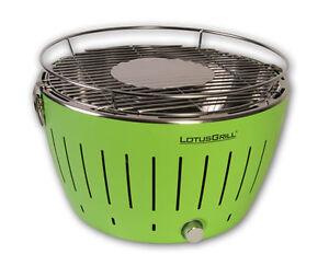 Rauchfreier Holzkohlegrill Lotusgrill : Lotusgrill holzkohlegrill grün g ge tischgrill rauchfrei ebay