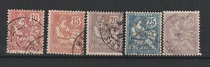 FRANCOBOLLI-1902-FRANCIA-MOUCHON-Z-898