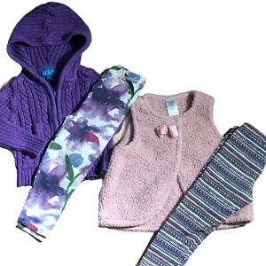 Girls-18M-Fall-Winter-Clothes-Lot-Burts-Bees-Baby-Childrens-Place-Carters