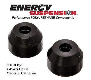Details about MOPAR A-Body (62-76) Polyurethane Tie Rod End Dust Boot Set -  BLACK 13001G