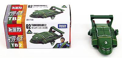 Tomy Tomica Thunderbirds are go 02 THUNDERBIRD 2 (4904810839255)