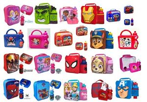 KIDS-CHILDRENS-CHARACTER-SCHOOL-LUNCH-BOX-INSULATED-LUNCH-BAG-NURSERY-TRAVEL