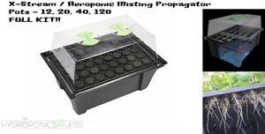 X-Stream-Aeroponic-Full-Misting-Propagator-Kit-Hydroponics-Cutting-Seeds-Plant