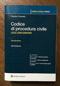 CODICE-PROCEDURA-CIVILE-2016-complementari-IPSOA-Wolters-Kluwer-9788821756733