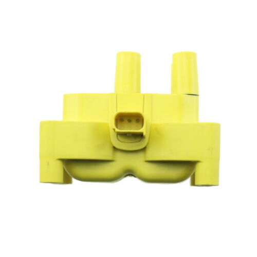 1PC UFD498BY For 11-14 Ford Heavy Duty Epoxy Yellow Ignition Coil  1.6L L4 UF654