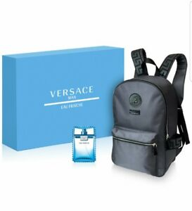 Versace Mens Eau Fraiche 2-PC Gift Set Eau De Toilette   Backpack ... 22fdcb6b9fb3c