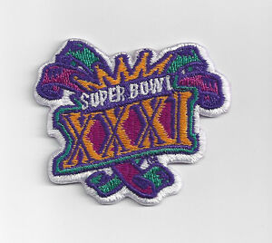 1997-Super-Bowl-XXXI-patch-Packers-vs-Patriots-SB-31-Green-Bay-New-England-Favre