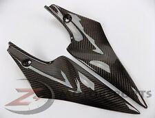 2006 2007 GSXR600 GSXR750 Gas Tank Side Trim Panel Fairing 100% Carbon Fiber