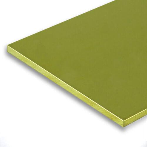 Brass sheet 1,5mm CuZn 37 brass plate plaque in messing-blech