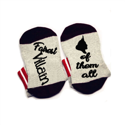 Fairest Villain of them all evil queen Socks fairytale bookish sock comfortable