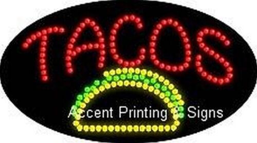 TACOS Flashing /& Animated Real LED SIGN