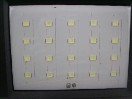Sensore di Movimento Energia Solare Luce a LED LUCE PARETE PIR PER AMBIENTI NOTTE CASA superare