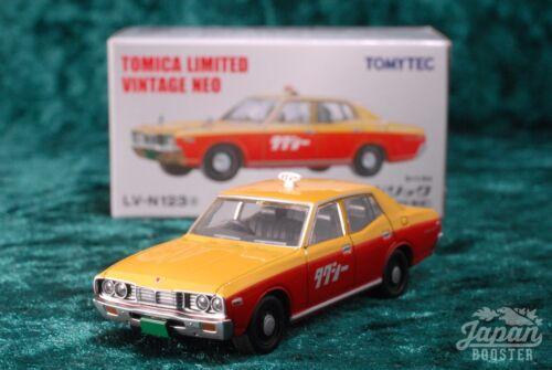 Nissan Cedric Taxi jaune//orange TOMICA LIMITED Vintage Neo LV-N123a 1//64