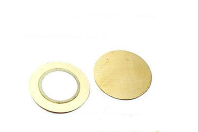 10pcs 27mm x 0.33mm Copper Piezo Disc Buzzer Pressure Sensor DIY Speaker Peizo