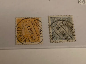 Portugal-Stamp-Lot-PA18-1892-93-A27