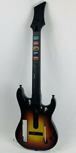 Red Octane Sunburst Guitar Hero Controller For Nintendo Wii 95455.805 *No Back*