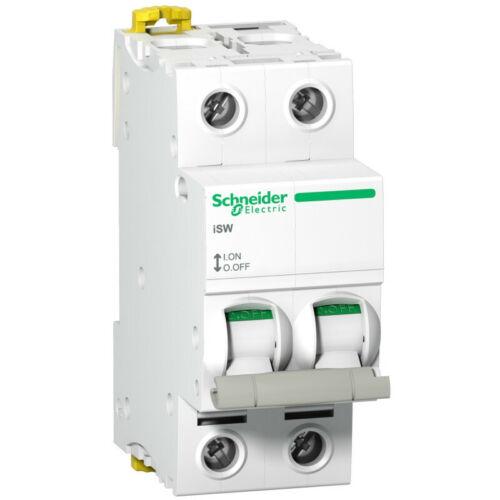 iSW interrupteur-sectionneur 2P 40A 415VAC A9S65240 Acti9