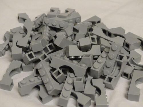 Lego 10 Pieces 1x4 Light Grey Arch 3659