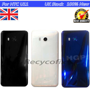For-HTC-U11-Battery-Cover-Replacement-Back-Door-Glass-Camera-Lens-Adhesive