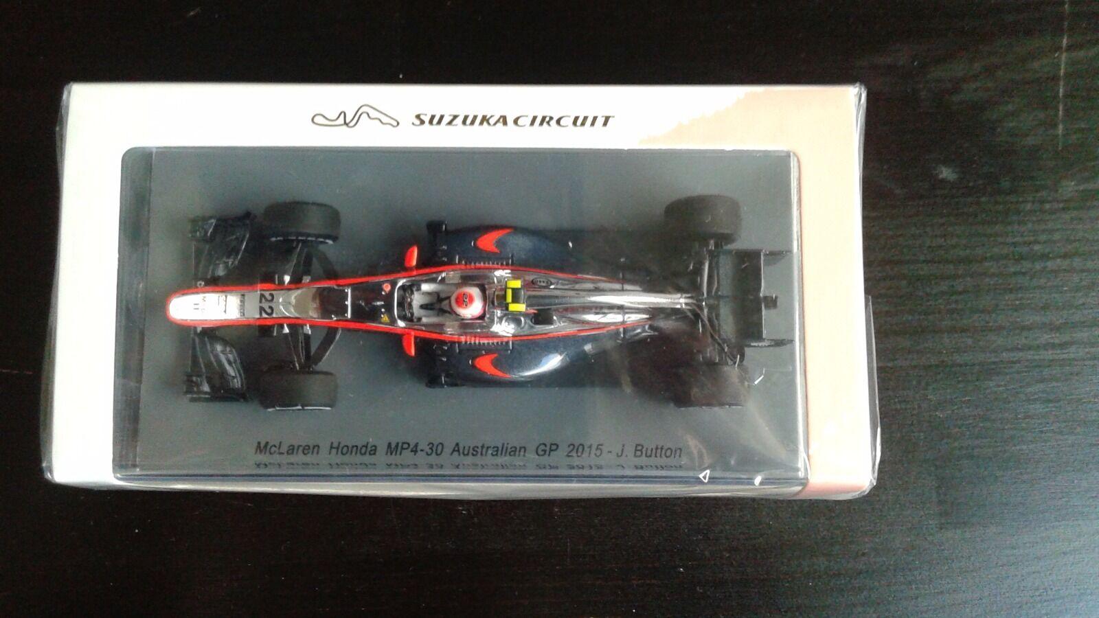 McLaren Honda MP4-30, Jenson Button Australian GP 2015 Suzuka Circuit 1 43