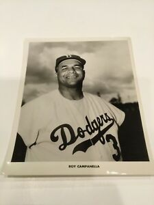 Type-1-original-team-issued-photo-crystal-clear-Roy-Campanella-Brooklyn-Dodgers