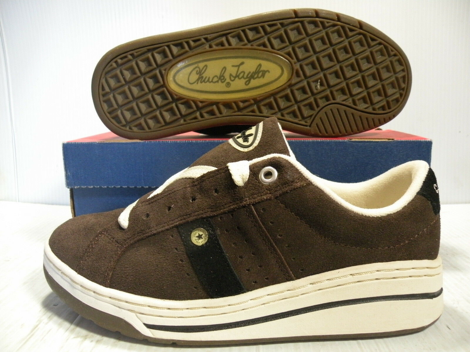 CONVERSE ATHLETIC MATCHUP OX SUEDE SKATE VINTAGE MEN schuhe TAN 12434 Größe 10 NEW