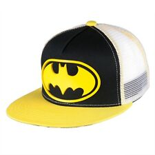 Batman - Rubber Patch Logo Snapback Cap