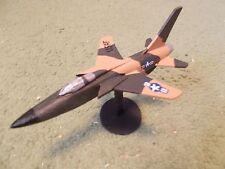 Built 1/100: American REPUBLIC F-105G THUNDERCHIEF Fighter Aircraft USAF