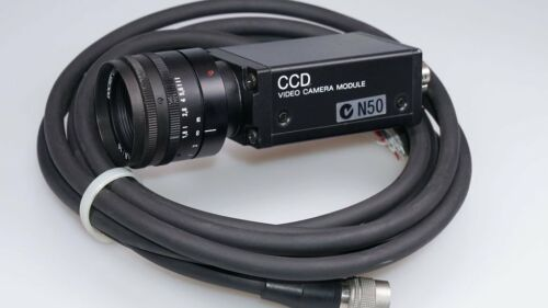 Sony XC-75CE CCD Video Camera Modul Kamera  Objektiv Docter Tevidon 1,8//16