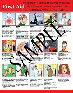 50-First-Aid-Reference-Charts-with-Personalized-Imprinting