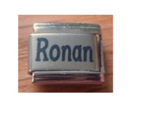 9mm Classic Tamaño Italiano Dijes Nombres nombre Ronan