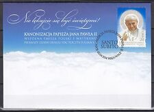 POLAND 2014  FDC SC# ( ) Canonization of Pope John Paul II
