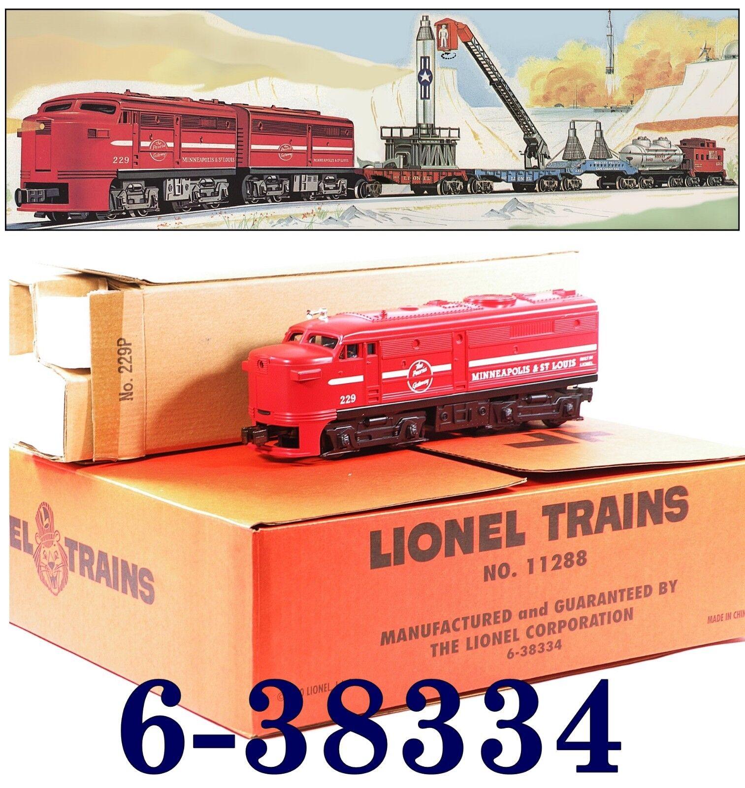 Lionel 6-38334 Orbitor Alco Freight Set Minneapolis St.Louis MStL (3) 2009 C10