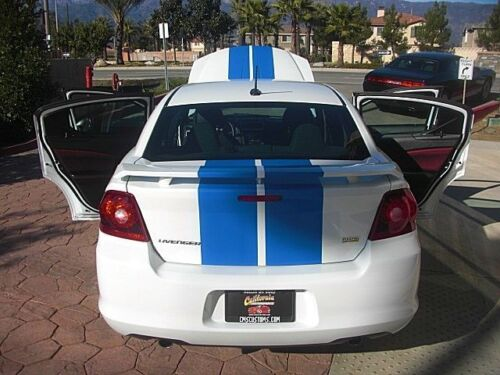 Dodge MOPAR Avenger 10 inch Racing Stripes Vinyl Graphic Decal Sticker 36 FEET