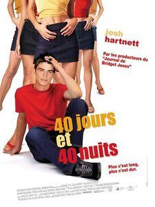 Affiche-120x160cm-40-JOURS-ET-40-NUITS-2001-Josh-Hartnett-Sossamon-NEUVE