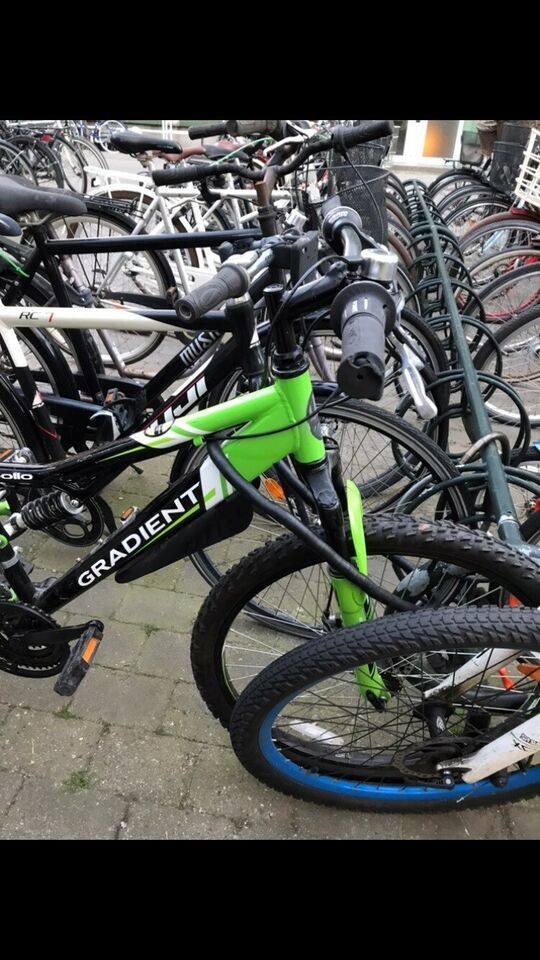 andet mærke, anden mountainbike, 21 gear