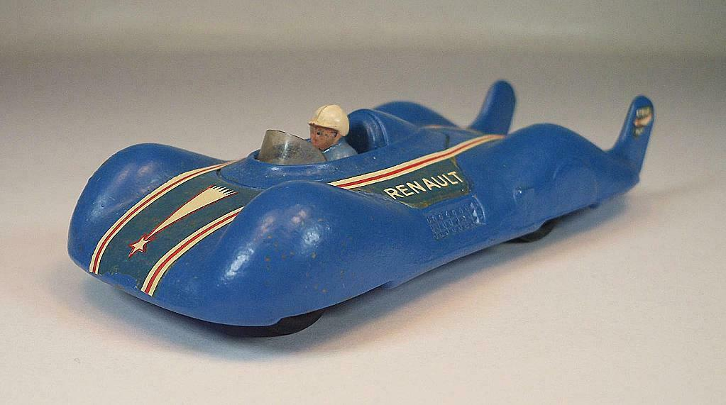 CIJ 1 43 No.3 2 Renault Etoile Filante bluee racing streamline