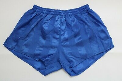 Costruttivo Vintage Nylon Shiny Shorts Taglia 6/ca M Blu Pantaloni Sportivi Pantaloni Corti As11-mostra Il Titolo Originale Per Classificare Prima Tra Prodotti Simili