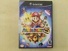 Mario Party 5 Complete Nintendo GameCube Wii Kids Funnest Game Ever