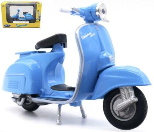 Vespa 150 cc año de construcción 1970 azul escala 1:18 motor Roller modelo de Welly