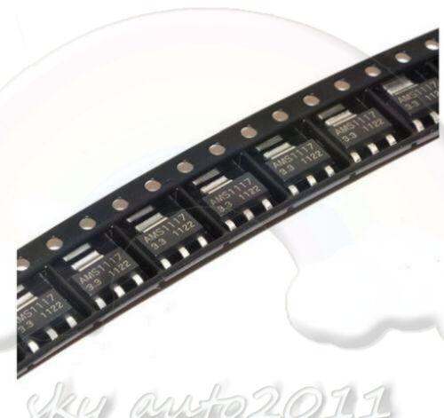 50Pcs AMS1117-3.3 LM1117 3.3V 1A  SOT-223 Stromspannung Regler L1SA