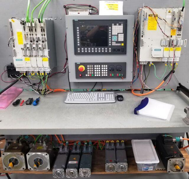 Siemens 6fc5250-6ax30-5ah0 6FC52506AX305AH0 Sinumerik 840d Panel NCU System  so