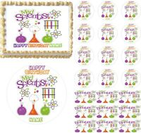 Mad Scientist Science Lab Edible Cake Topper Image Cupcakes Mad Scientist Cake