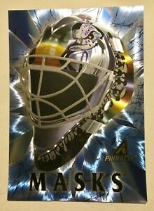 Anaheim-Mighty-Ducks-GUY-HEBERT-1998-Pinnacle-16-034-x20-034-Hockey-MASK-large-card