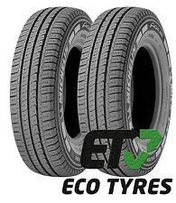 2X tyres 215 70 R15C 109/107R 8PR Michelin Agilis Van tyres C B 70dB